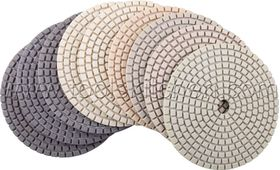 Dry Polishing Pads frontside
